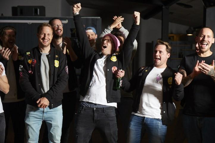 Die Hamburger Goldkehlchen 4 ESC 2020 Probe Die Hände zum Himmel