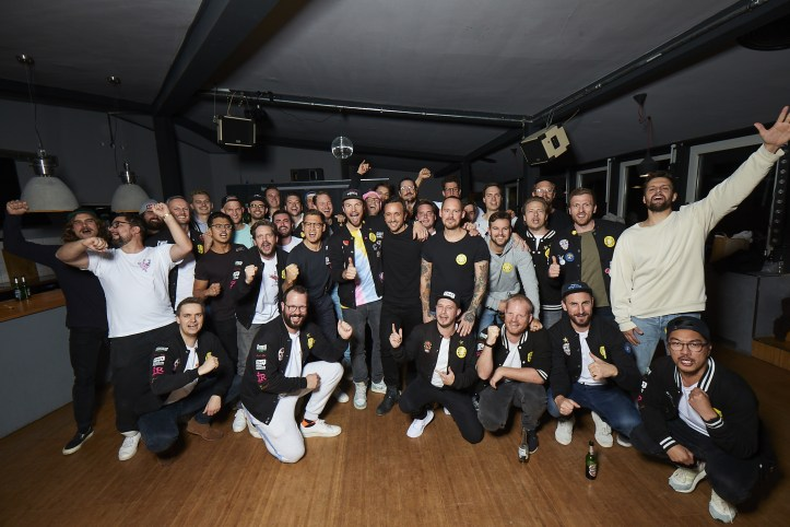 Die Hamburger Goldkehlchen 4 ESC 2020 Probe Gruppenfoto Donnerloft