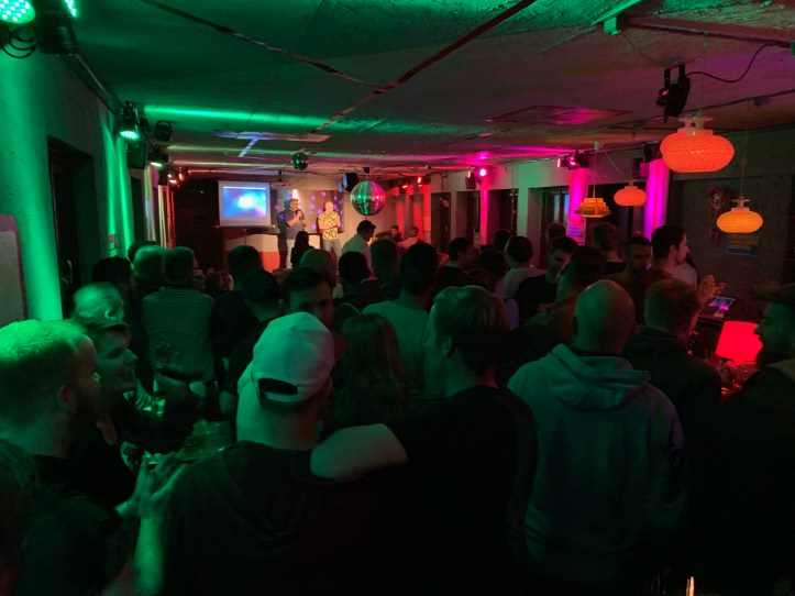 12 ESC Party Hannover 2019 Quiz Schwule Sau