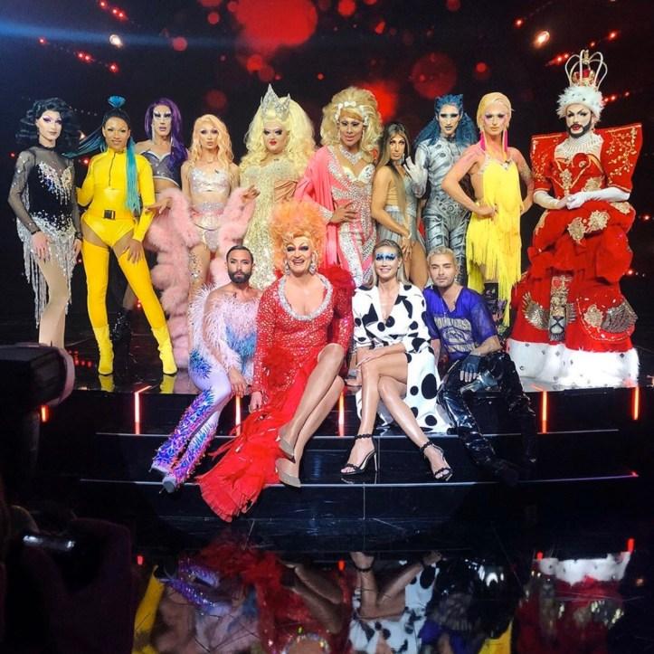 Queen of Drags ProSieben Gruppenfoto Conchita Wurst