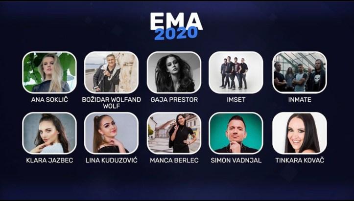EMA 2020 Eurovision ESC 2020 Slowenien Vorentscheidung