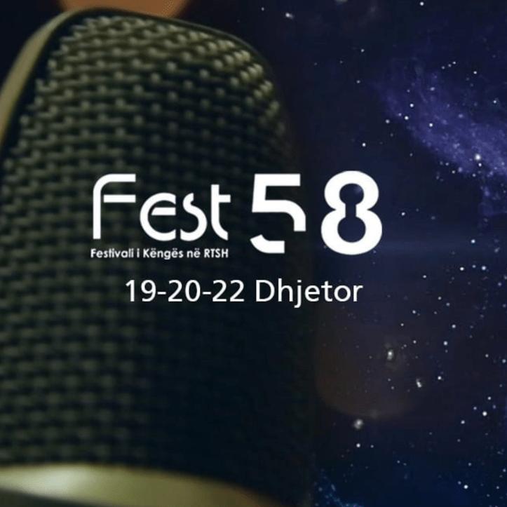 Festivali i Këngës 58 Logo Albanien 2019 2020 Vorentscheidung