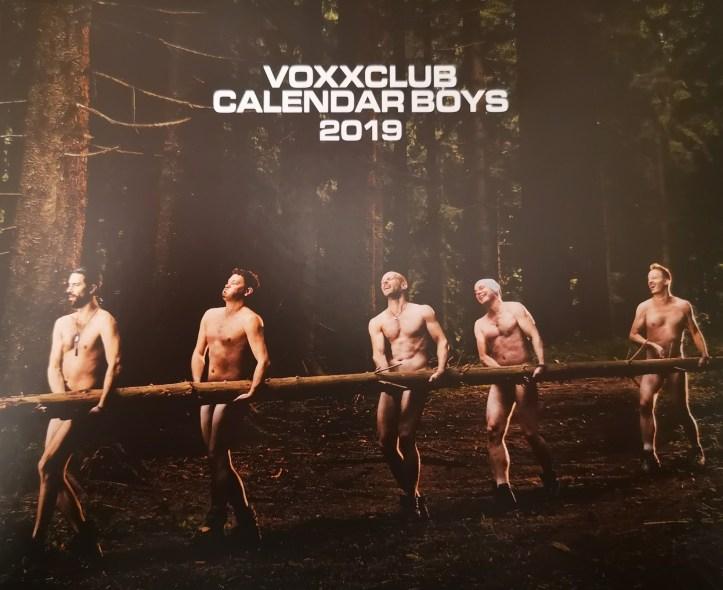 voXXclub Calendar Boyz 2019