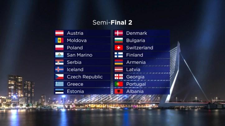 Esc Halbfinale 2021