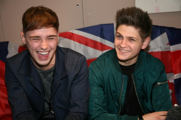 LEP 2016 Interview Sessions Ruby Blue London Joe and Jake soooo cute