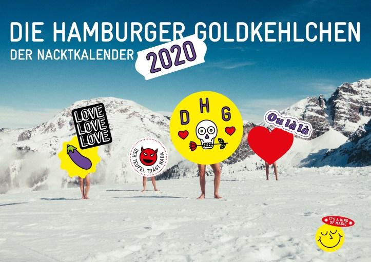 Nacktkalender DHG 2020 Cover