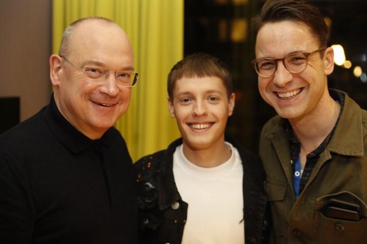 ULfR Premiere Ben Dolic mit Thomas Schreiber und Christian Blenker