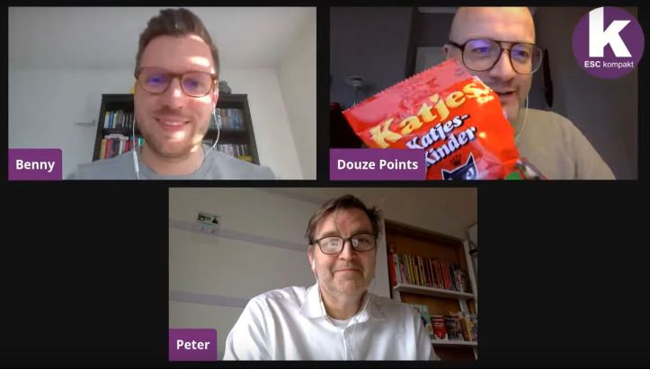ESC kompakt LIVE Blogger Benny Peter Douze Points Katjes