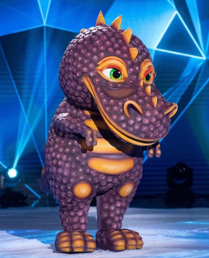 The Masked Singer Russland Sergey Lazarev Dino Dinosaurier
