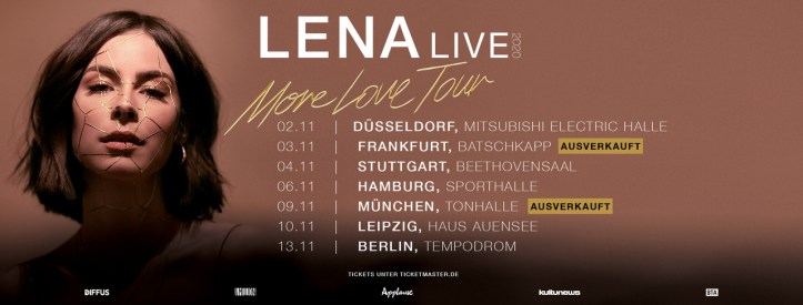 Lena More Love Tour 2020 Ersatz Nachholtermine