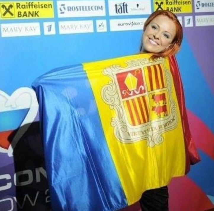 Susanne Georgi ESC 2009 Eurovision Moskau Andorra