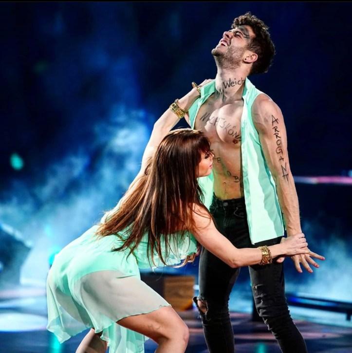 Luca Hänni Christina Luft Let's Dance RTL Körper