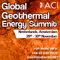 Global Geothermal Energy Summit 2017 by ACI, on 29-30 November, Amsterdam, Netherlands