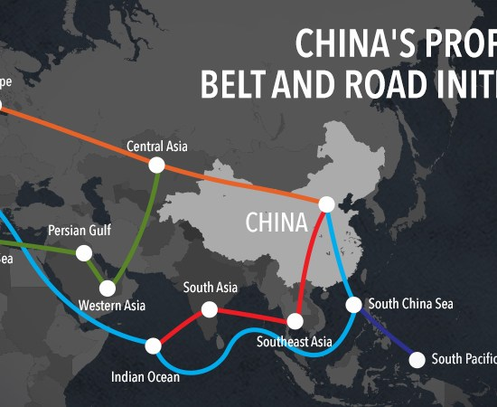 "What China's ""Belt and Road Initiative"" means for the WBs, by Vanora Bennett / EBRD, 11 Sept. 2017"