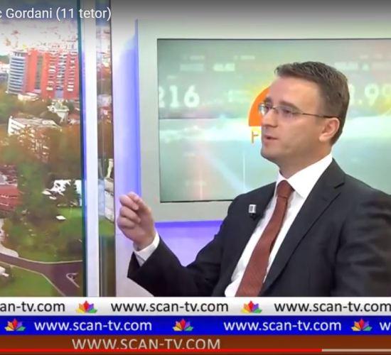 """Intervista live mbi energjitë e rinovueshme ne emisionin """"Për te Fol"""", Radio Televizioni Scan, 10 Tetor 2017"""
