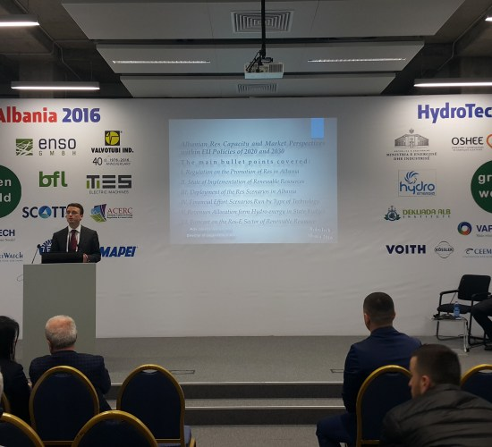 Albania foster progress on sustainable energy markets by Dr Lorenc Gordani