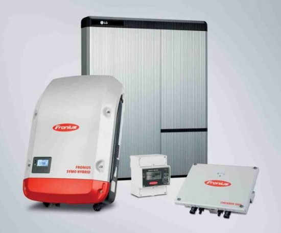 Fronius offers a new energy package with storage