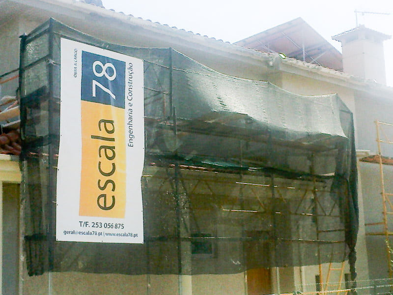 Braga   Isolamento de fachada de vivenda com sistema ETICS tipo Cappotto