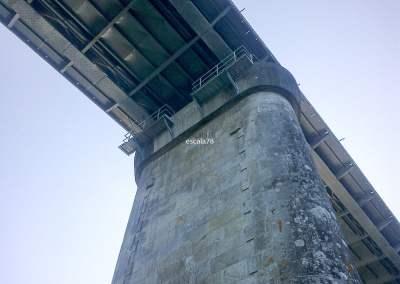 Valença | Remoção de elementos metálicos na ponte internacional de Valença