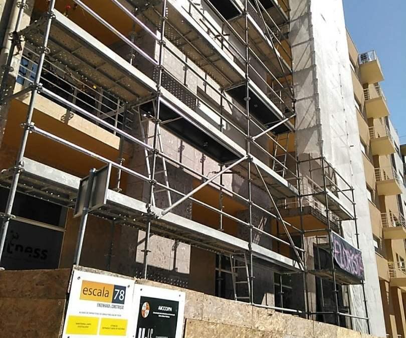 Guimarães | Reabilitação de fachada com sitema ETICS