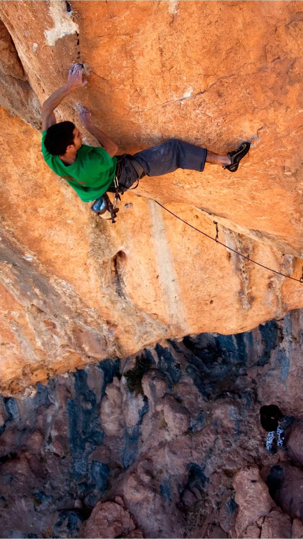 La escalada exige dedicación hacia la prevención de las lesiones