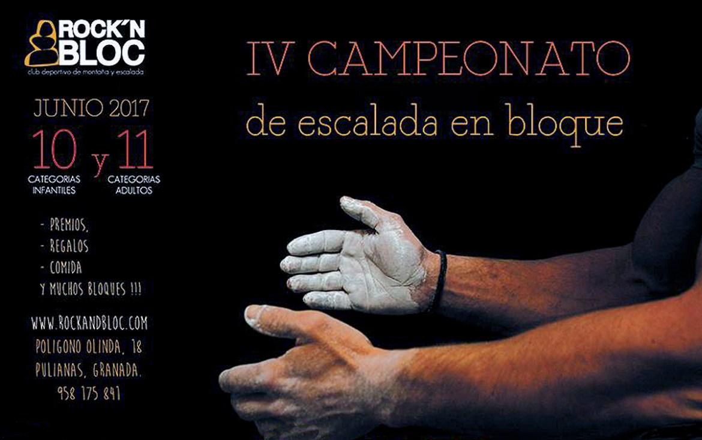IV Campeonato de escalada en bloque Rock´N Bloc en Granada