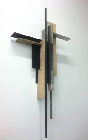 """FIGURA 16 - """"For Malevich"""", instalação de Ian Carr"""