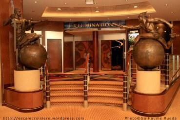 Queen Mary 2 - Illuminations - Le Planétarium