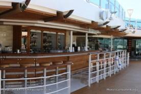 Regal Princess - Mermaid's tail bar - piscine centrale