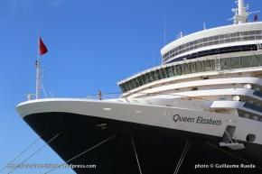 Queen Elizabeth - Passerelle extérieure