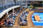 Anthem of the Seas - piscine extérieure