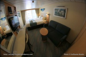 Allure of the Seas - Cabine 591 - Balcon avec vue sur Central Park