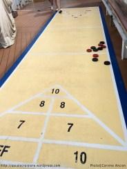 Allure of the Seas - Jeu de palets - Shuffle board