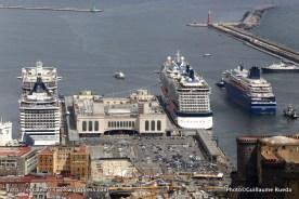 MSC Splendida - Celebrity Silhouette - Horizon - Naples