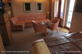 Costa Pacifica - Grande Suite avec balcon – cabine 7304