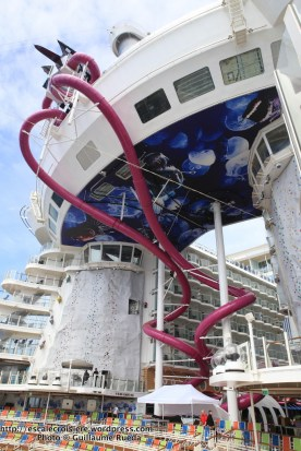Harmony of the Seas - Mur d'escalade