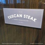 Sirena - Oceania - Restaurant Tuscan Steak
