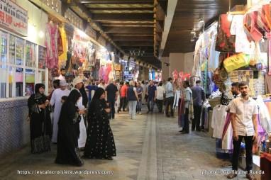 Escale à Mascate - Sultanat d'Oman - Souk de Muttrah