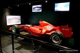 MSC Splendida - Simulateur de F1