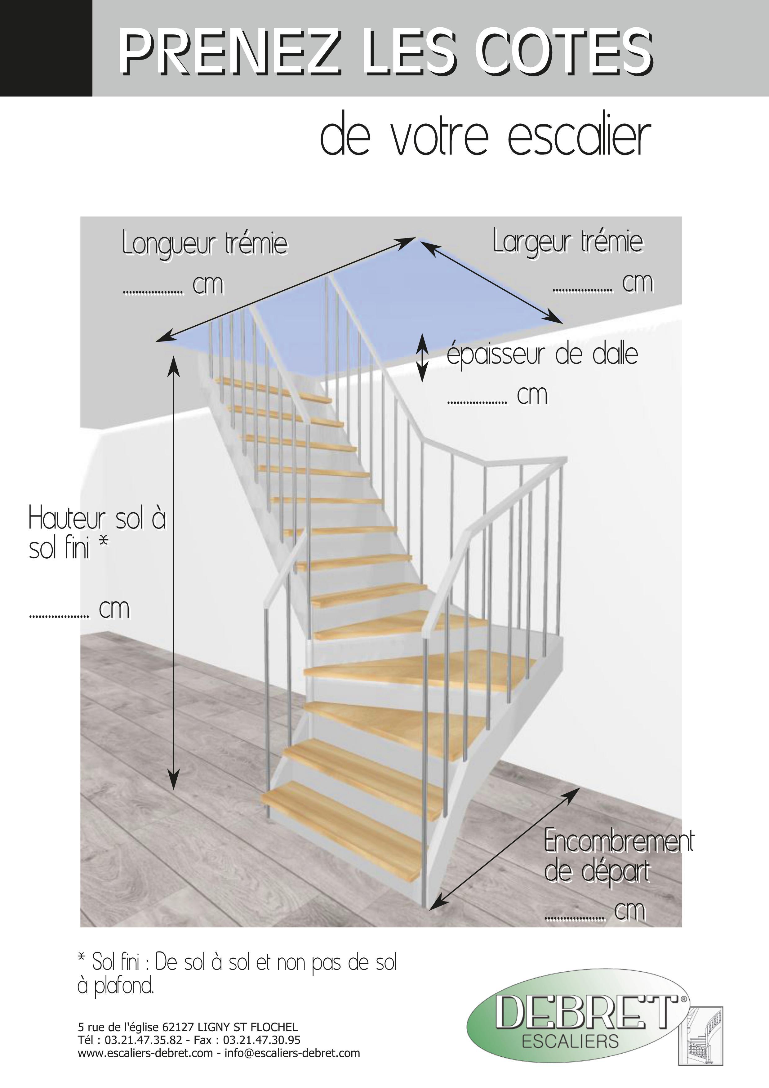 comment prendre les cotes d 39 un escalier fabricant d 39 escaliers sur mesure debret escaliers. Black Bedroom Furniture Sets. Home Design Ideas
