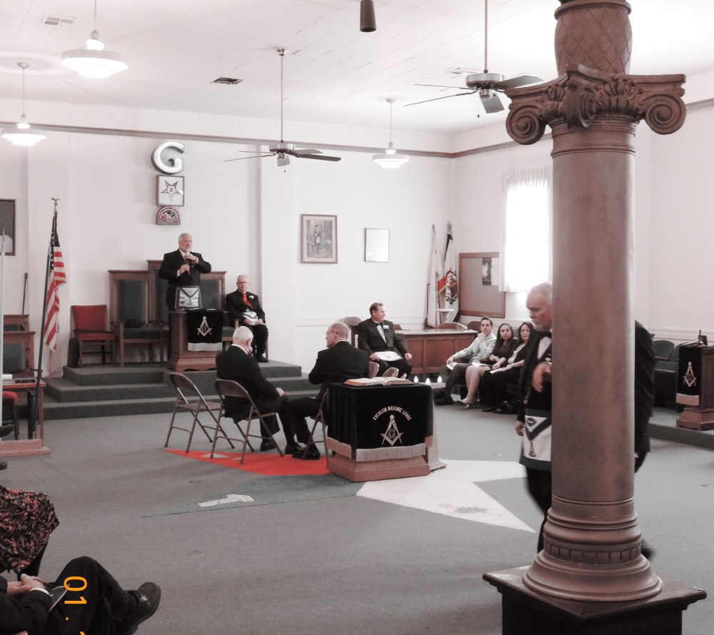 Escalon Lodge No. 591-91st Installation of Officers (4/6)