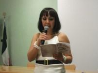 Antonella Rizzo, reading 'Oblò'