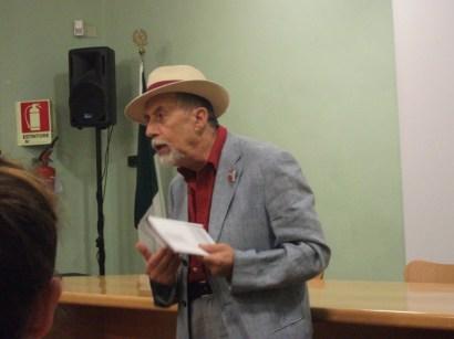 Domenico Sacco, reading 'Oblò'