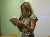 Monica Martinelli, reading 'Oblò'