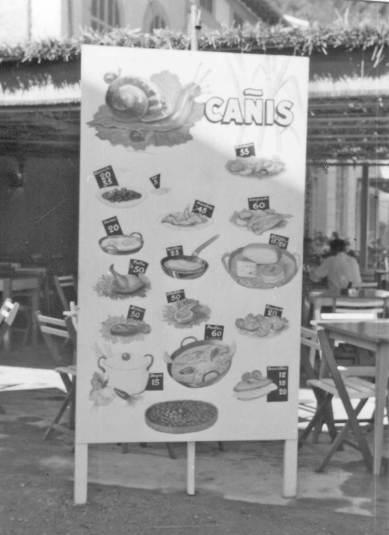 carta 1970 restaurant es canyis puerto soller