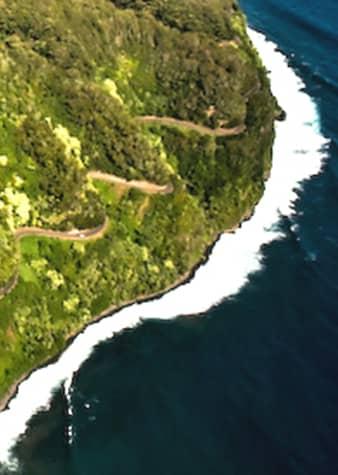 La carretera a Hana, en Maui, Hawái