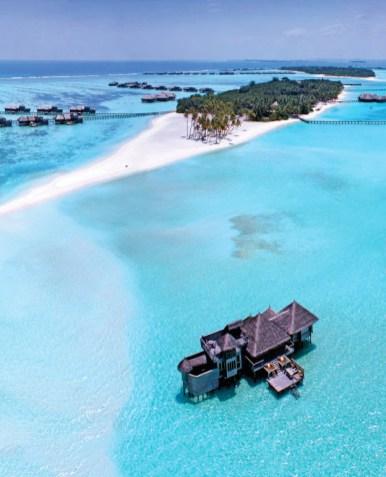 hotel Gili Lankanfushi en las Maldivas