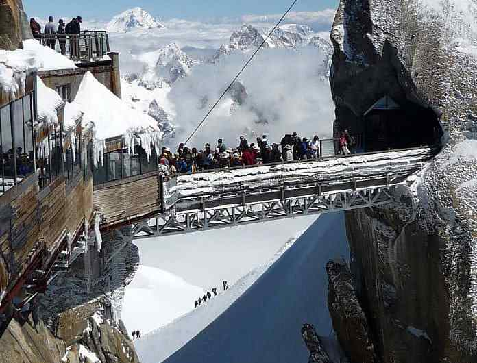 Escapada a los alpes franceses: la Aiguille du Midi
