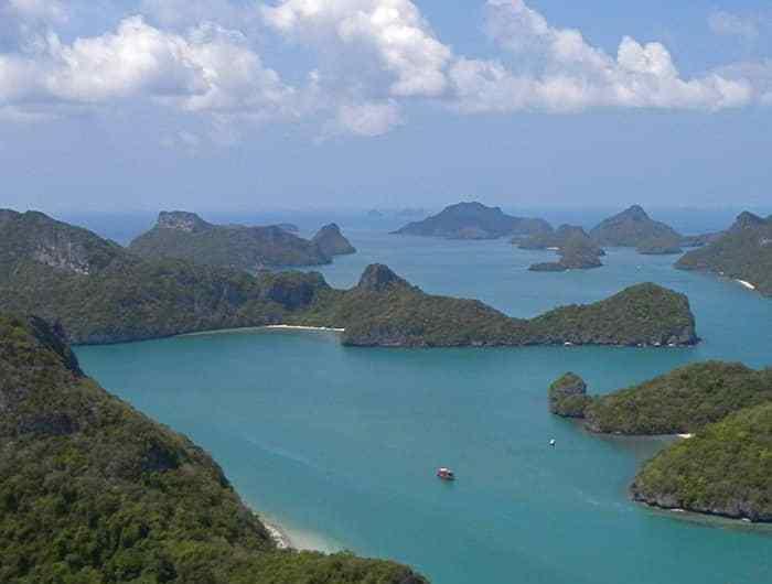 Bienvenidos al parque natural de Ang Thong, en Tailandia