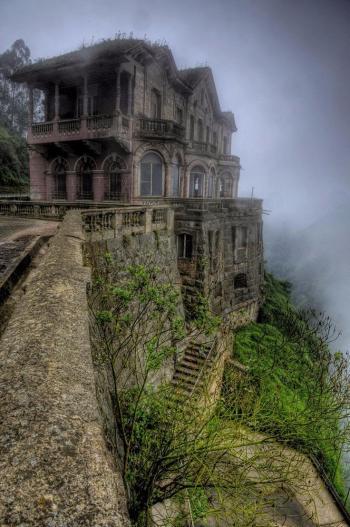 la mansión encantada, hotel del salto